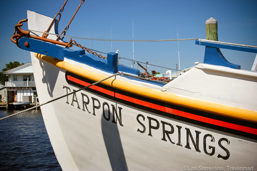 Sponge diving ship Tarpon Springs, Florida
