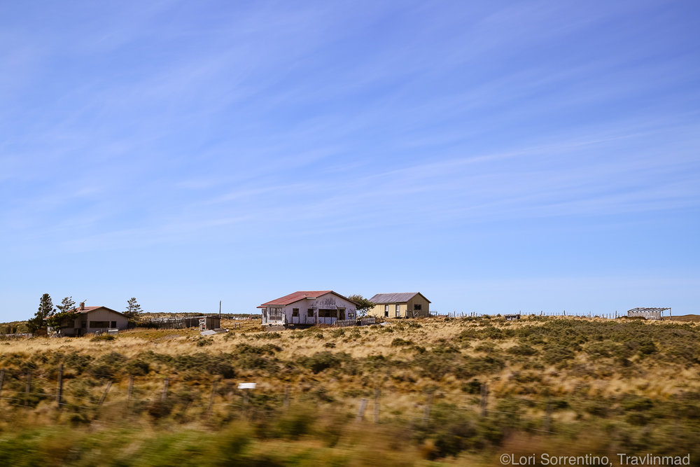 Wild countryside of Chilean Patagonia