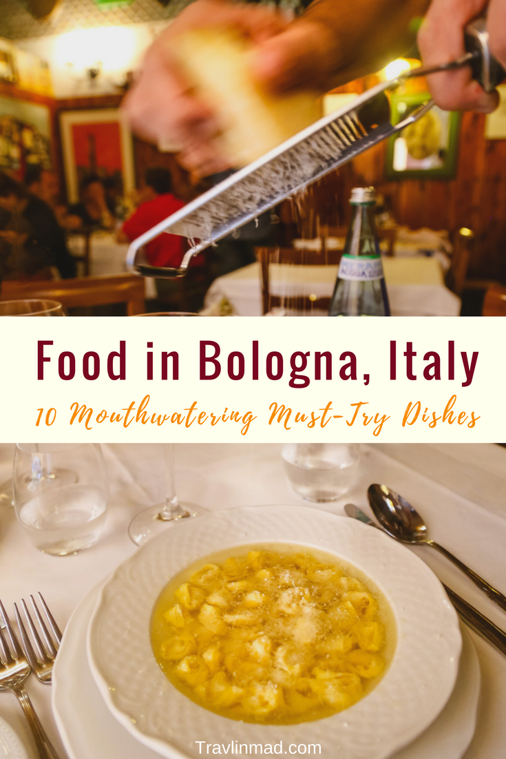 Food in Bologna, Bologna food