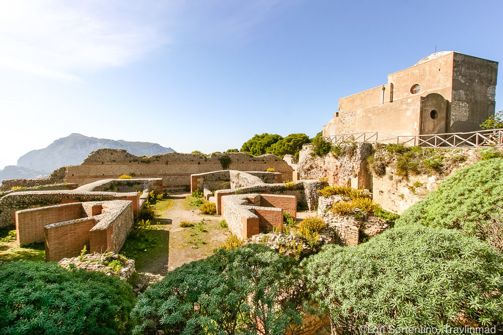 Villa Jovis, Villa Tiberio, Capri, Italy