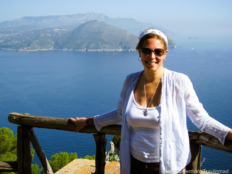 Overlooking Sorrento from Capri