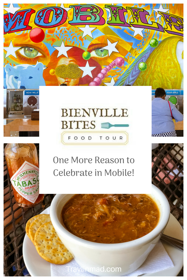 Bienville Bites Food Tour, Mobile Alabama