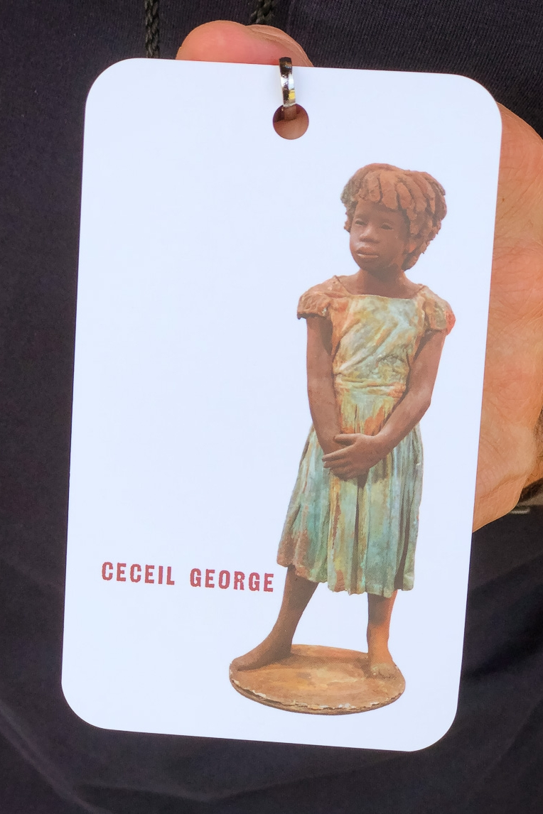 Ceceil George of Whitney Plantation, Louisiana