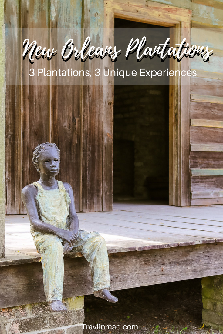 A tour of 3 New Orleans Plantations in Louisiana