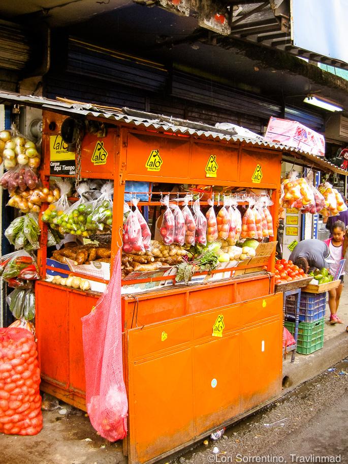 The bustling Mercado Central in San Jose, Costa Rica