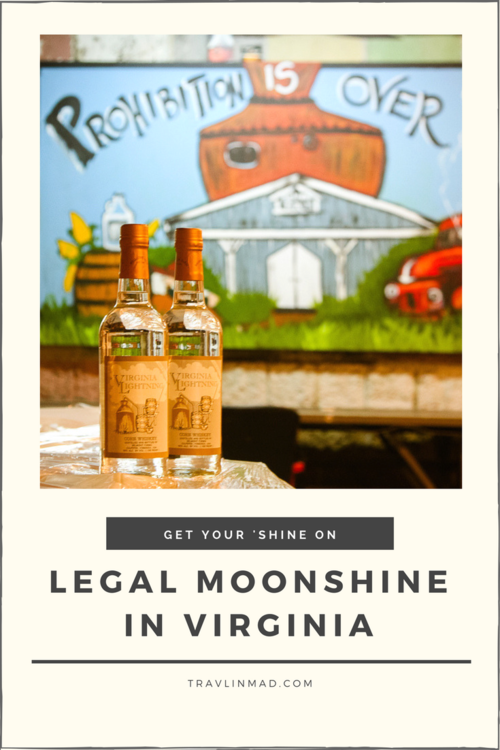Legal moonshine in Virginia, USA, Belmont Farm Distillery