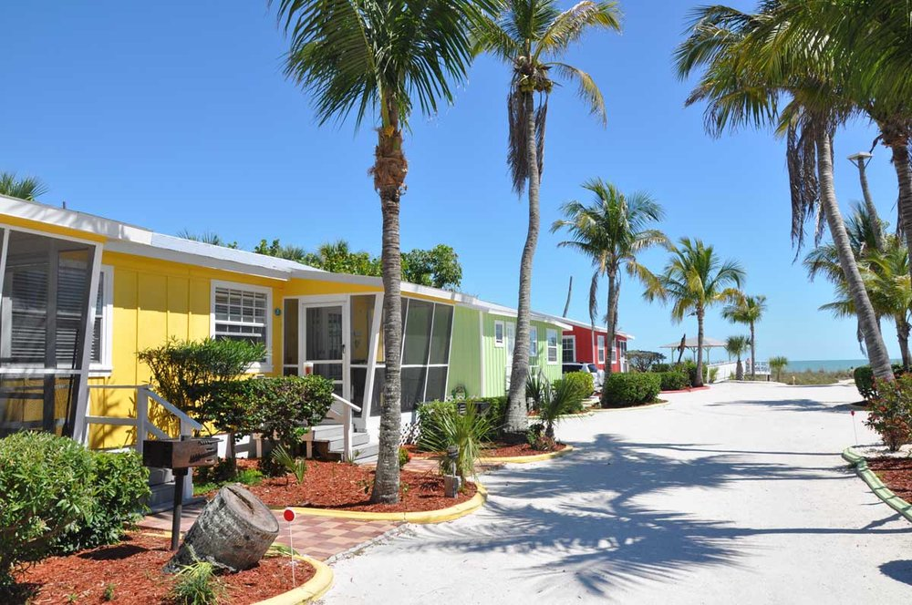Beachview Cottages, Sanibel Island, Florida