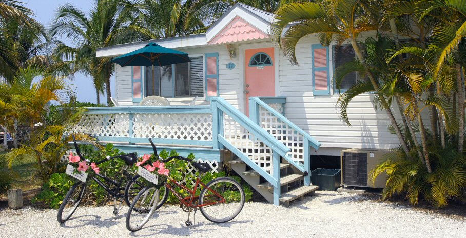 Gulf Breeze Cottages, Sanibel, Florida
