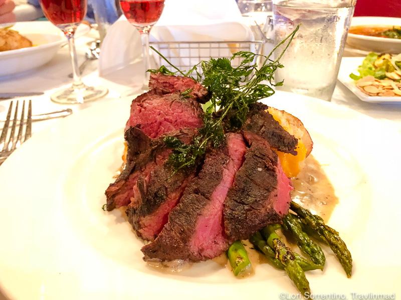 Grilled hanger steak, Cypress restaurant, Tallahassee, Florida