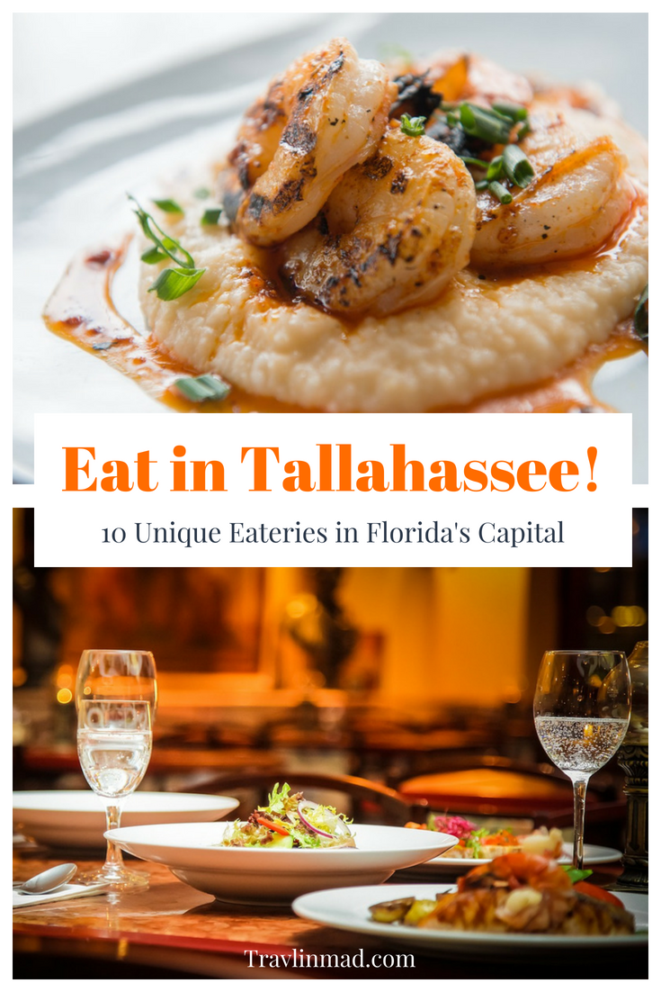 10 unique places to eat in Tallahassee