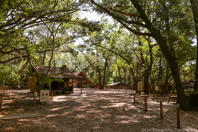 Living history at the Tallahassee Museum, Florida