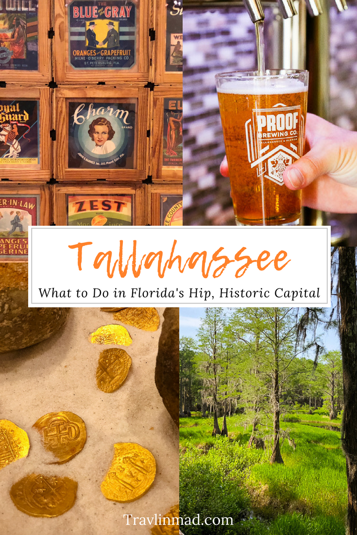 What to do in Tallahassee, Florida's hip and historic capital.