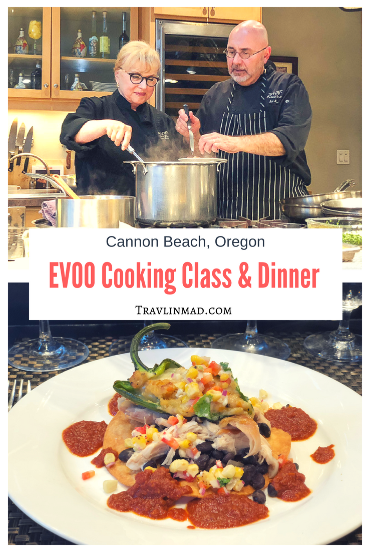 EVOO Cannon Beach culinary experience, Cannon Beach, Oregon