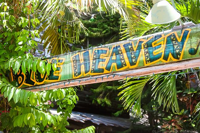 Blue Heaven, Key West, Florida