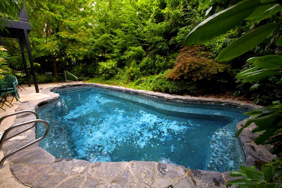 Pool, McMenamins Grand Lodge, Forest Grove, Oregon