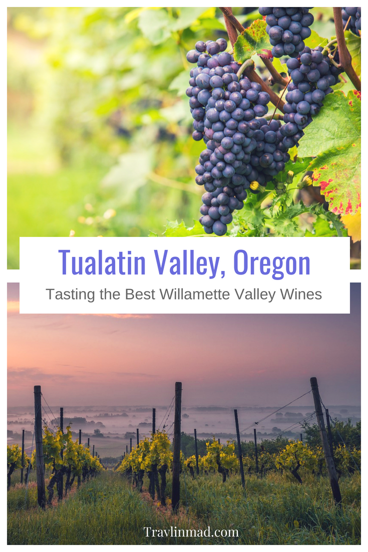 Oregon's Willamette Valley wineries have quality wines, but the Tualatin Valley in the north Willamette Valley produces some of the best Pinot Noir in the world as well as premium saké too.