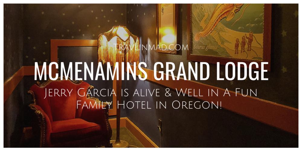 McMenamin's Grand Lodge, Oregon