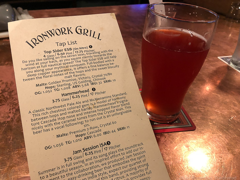 Ironwork Grill, McMenamins Grand Lodge, Forest Grove, Oregon