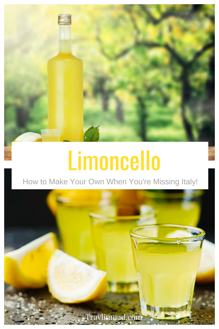 Italian Limoncello recipe, authentic limoncello recipe, How to make your own limoncello