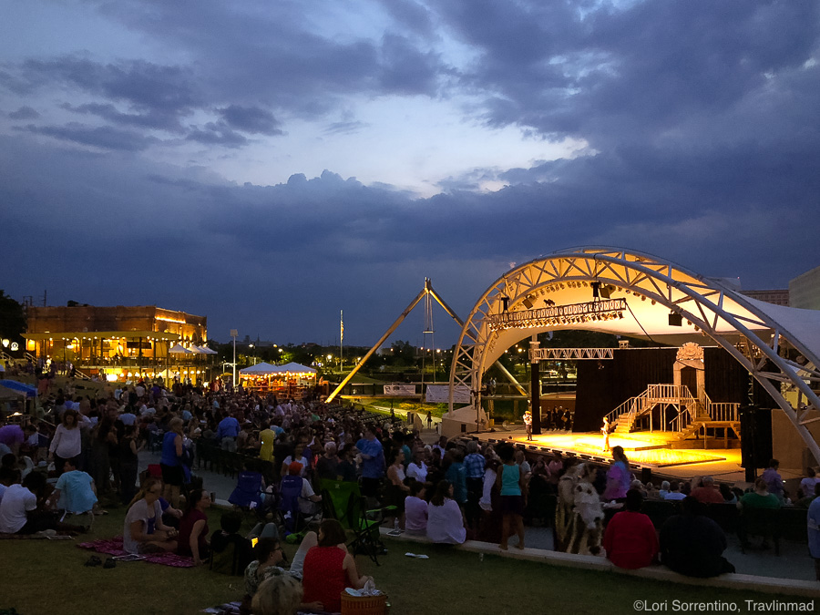 Shakespeare in Cascades Park, Tallahassee, Florida