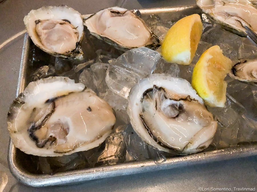 Favorite Gulf Shores food - Fresh Shellbank Selects Oysters