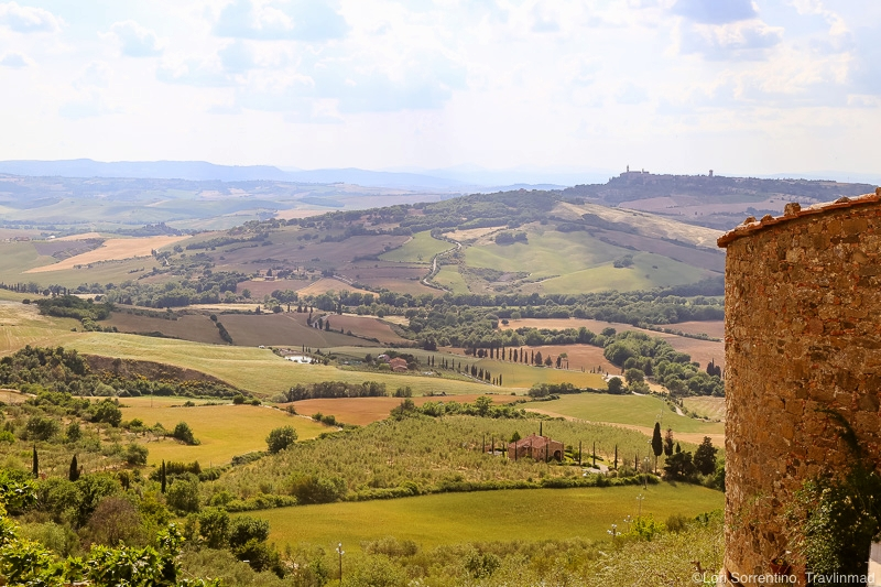 Scenic drives in Tuscany Val d'Orcia, Italy