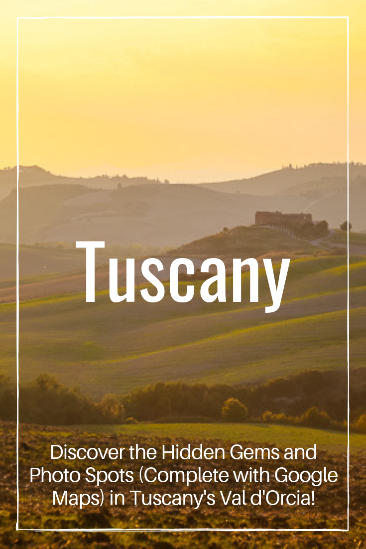 Scenic drives in Tuscany
