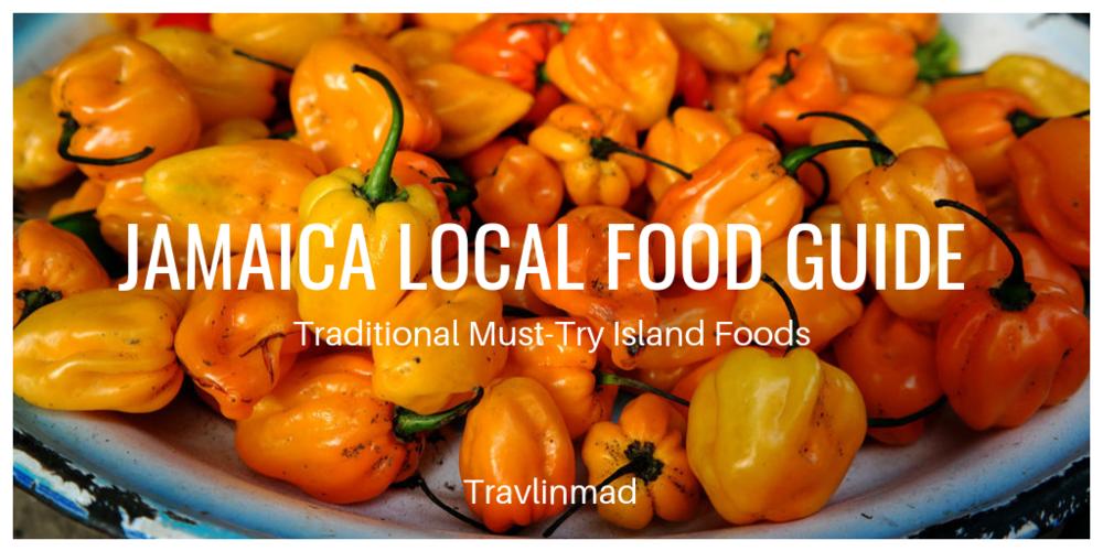 Jamaica Food Guide, food on the Jamaican menu