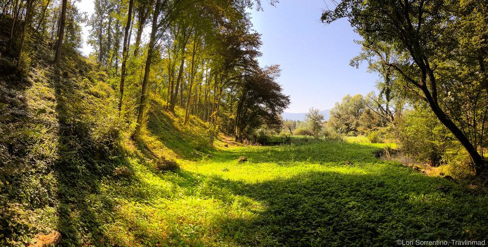 Krajinkski Park Lahinja, Mela Krajina, Slovenia