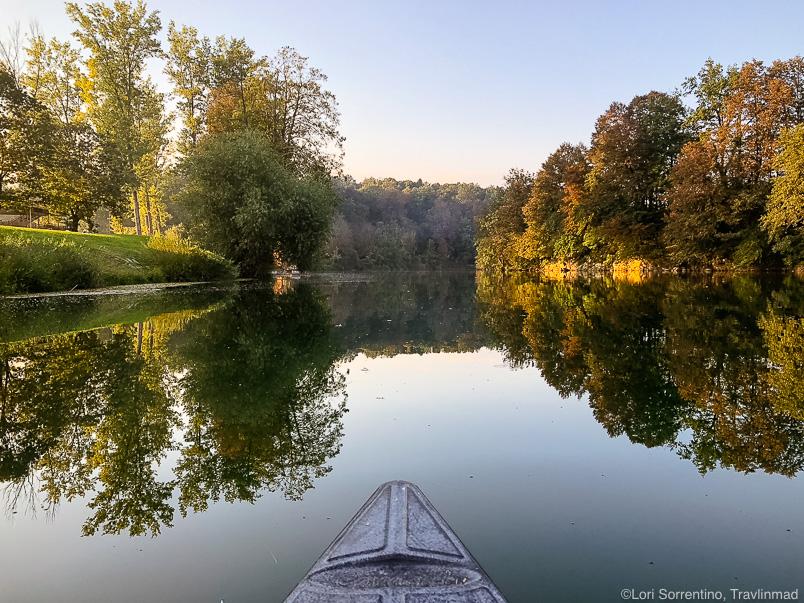 Paddling the Kolpa River at Big Berry, Bela Krajina