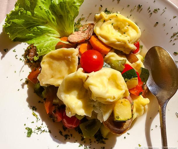 lunch at Gostilna Müller, Primostek, Slovenia