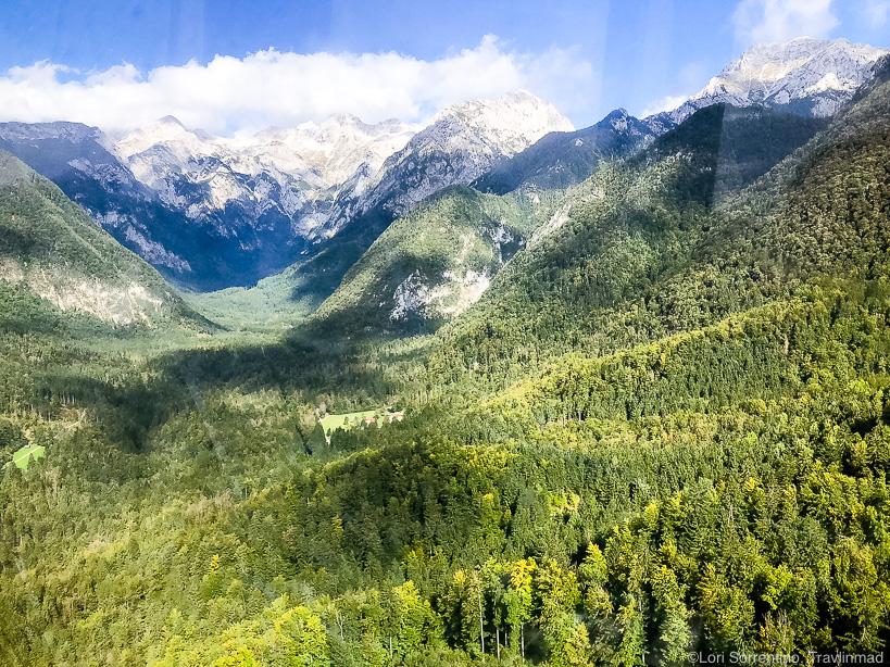 Cable car to Velika Planina, Slovenia