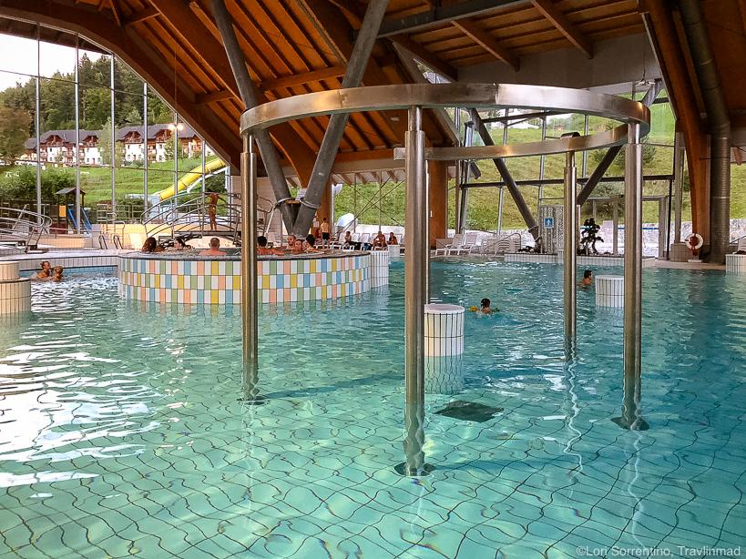 Swimming pool, Eco resort Terme Snovik, Slovenia