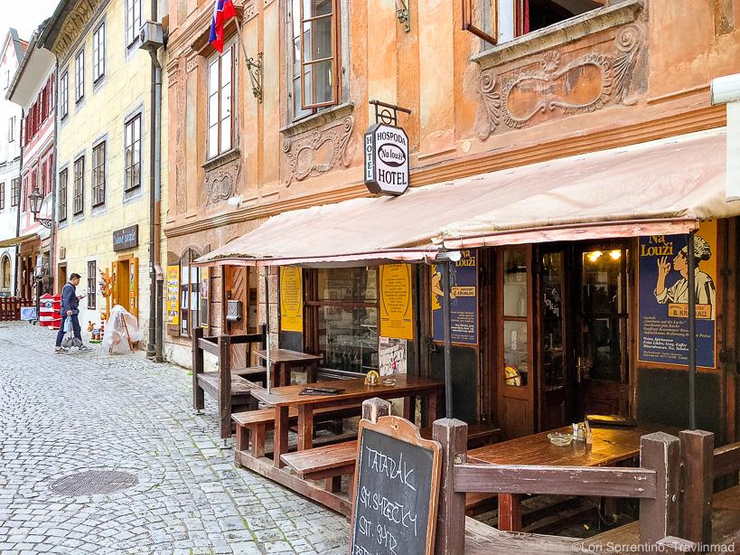 Hospada Na Louzi restaurant, Cesky Krumlov