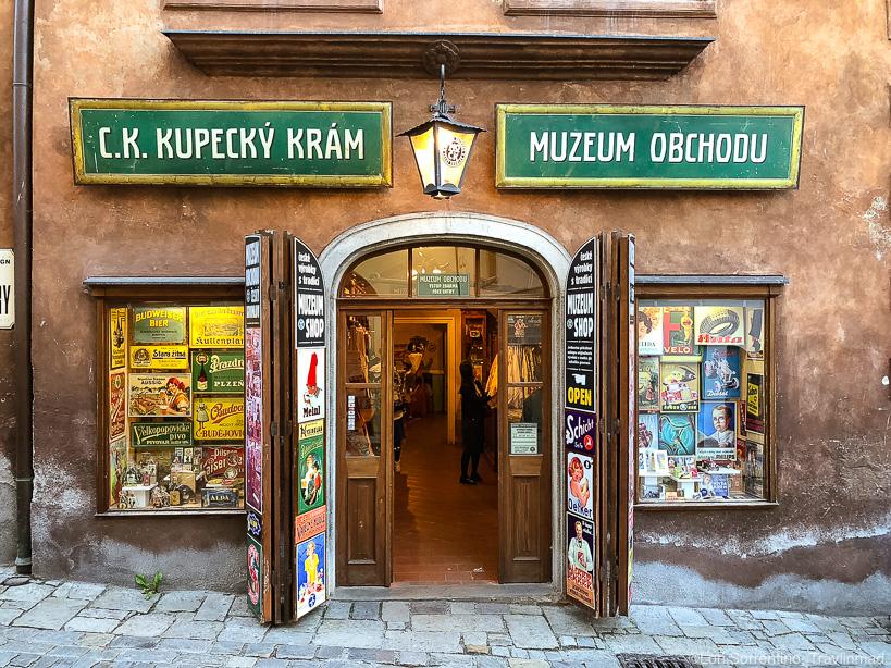 Muzeum Obchodu, Cesky Krumlov, Czech Republic