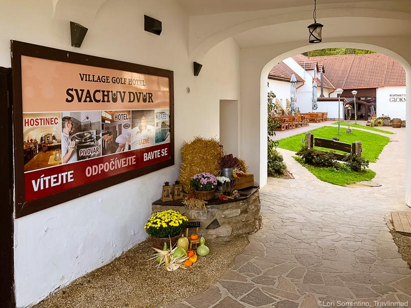 Svachovka hotel near Cesky Krumlov
