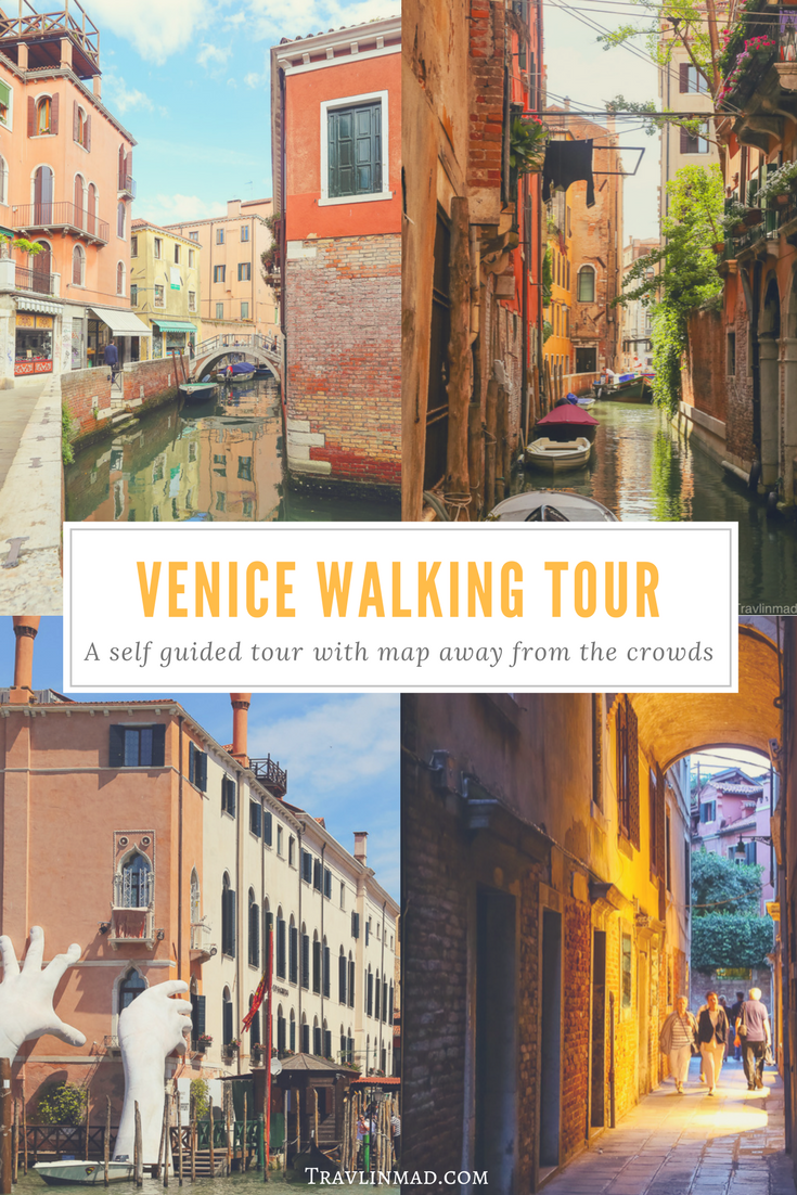 Venice Walking Tour, Italy
