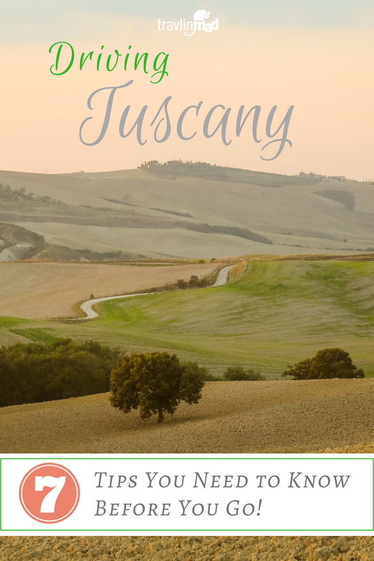 7 Tips you need to know before driving in Tuscany. Travel tips, signs, and other good information for renting a car and driving on your own.