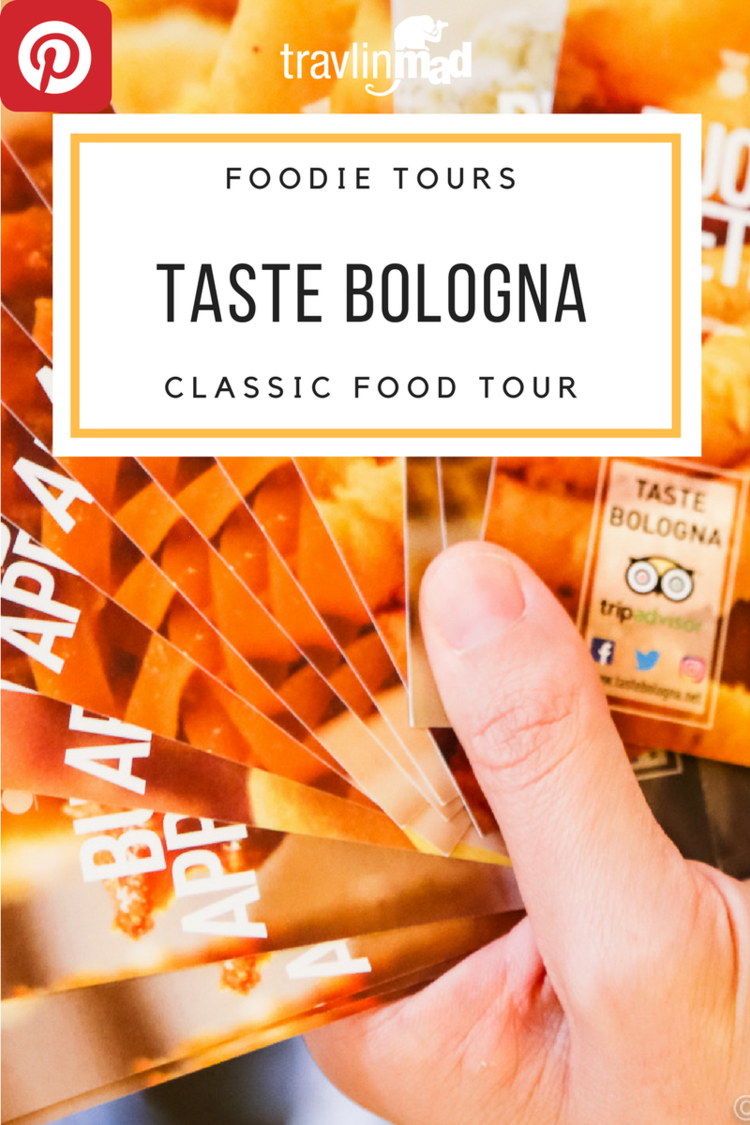 Taste Bologna food tour, a fun, tasty, and informative way to discover the foods and flavors of Italy's culinary city!