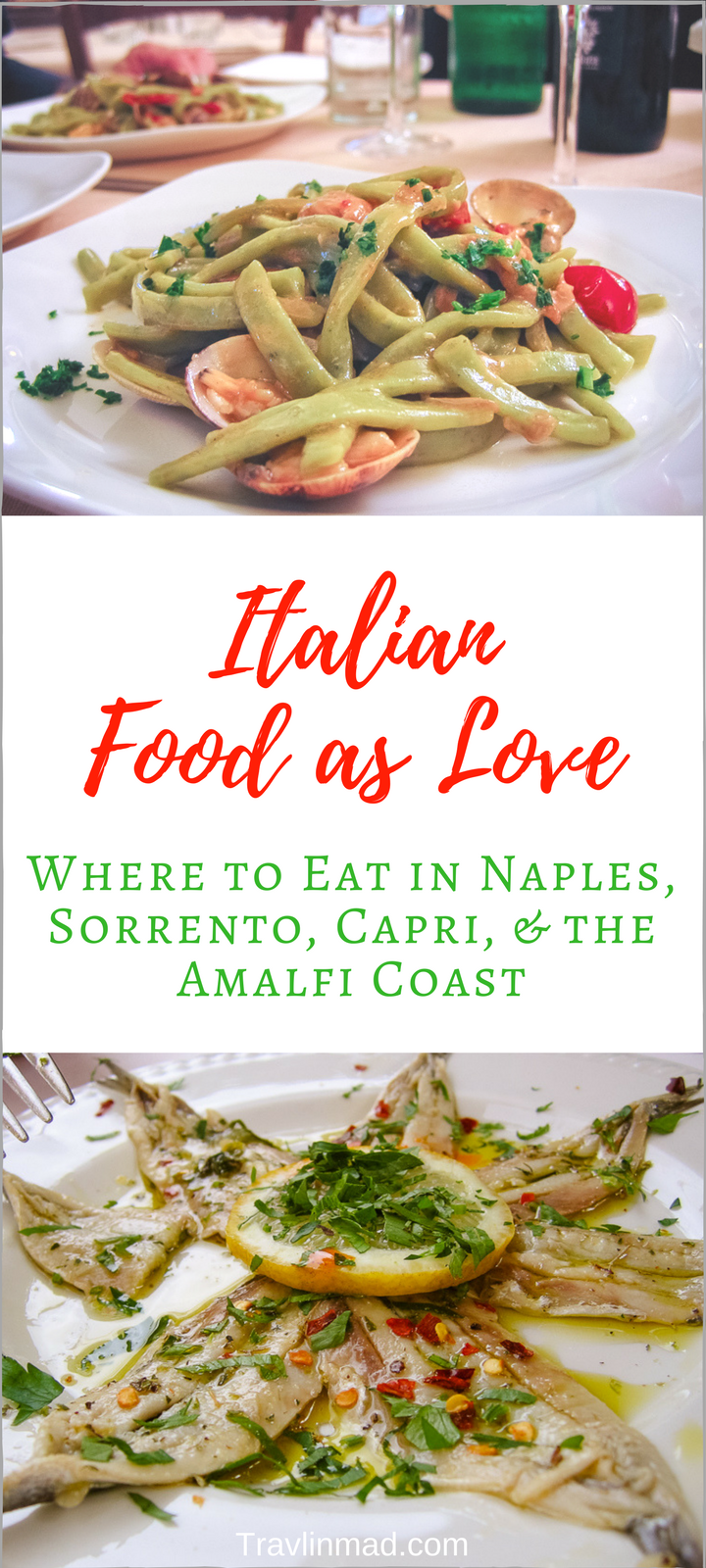 Where to Eat in Sorrento, Naples, Capri, and the Amalfi Coast