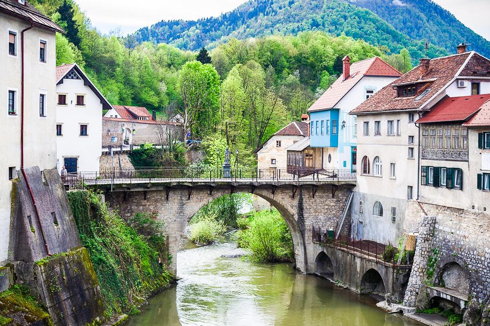 Skofja Loka, Slovenia, one of the best day trips from Ljubljana