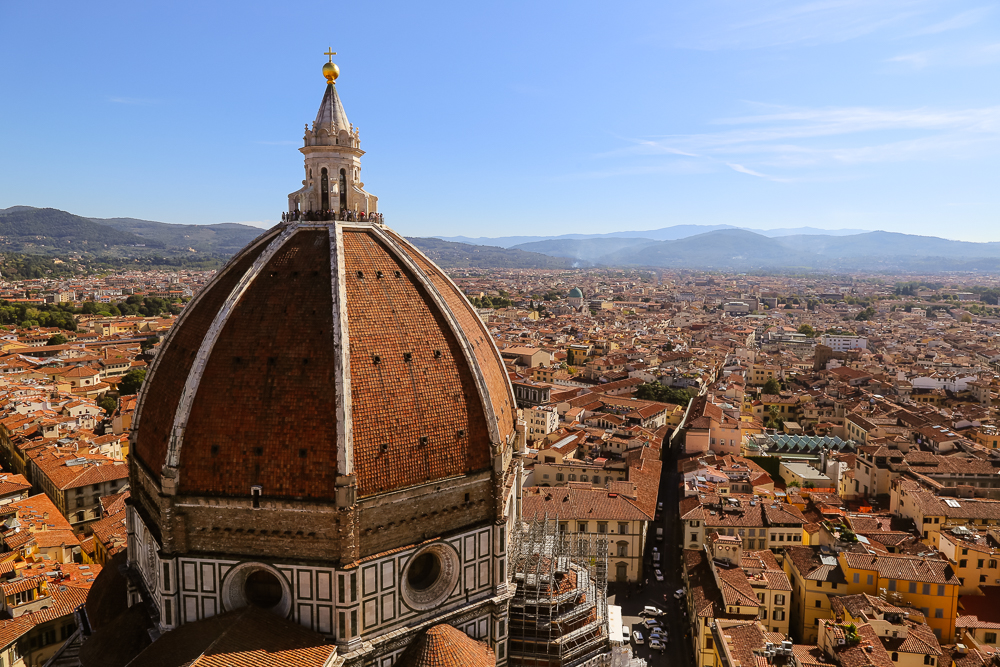 View from Giotto's Bell Tower, Florence, ITaly