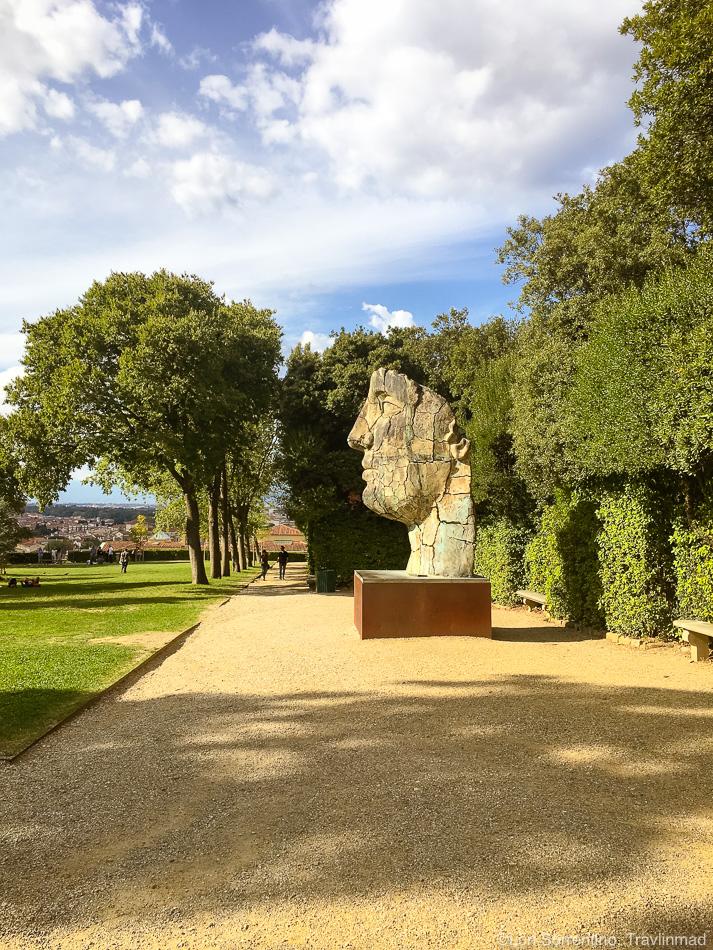 Boboli Gardens sculpture, Florence, Italy