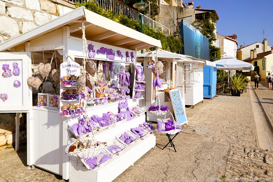 local lavender, Rovinj, Istria, Croatia