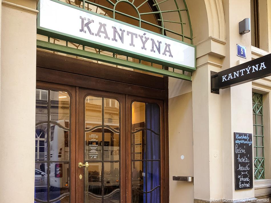 Kantyna, Taste of Prague food tour, Czech Republic