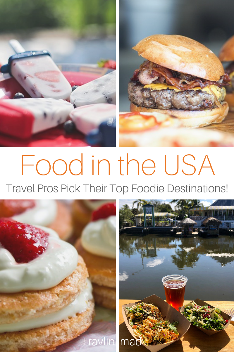 Top food writers and travel pros pick their best foodie adventures and culinary destinations in the USA, from an original New England clam shack to the hottest restaurants in the country. #USA