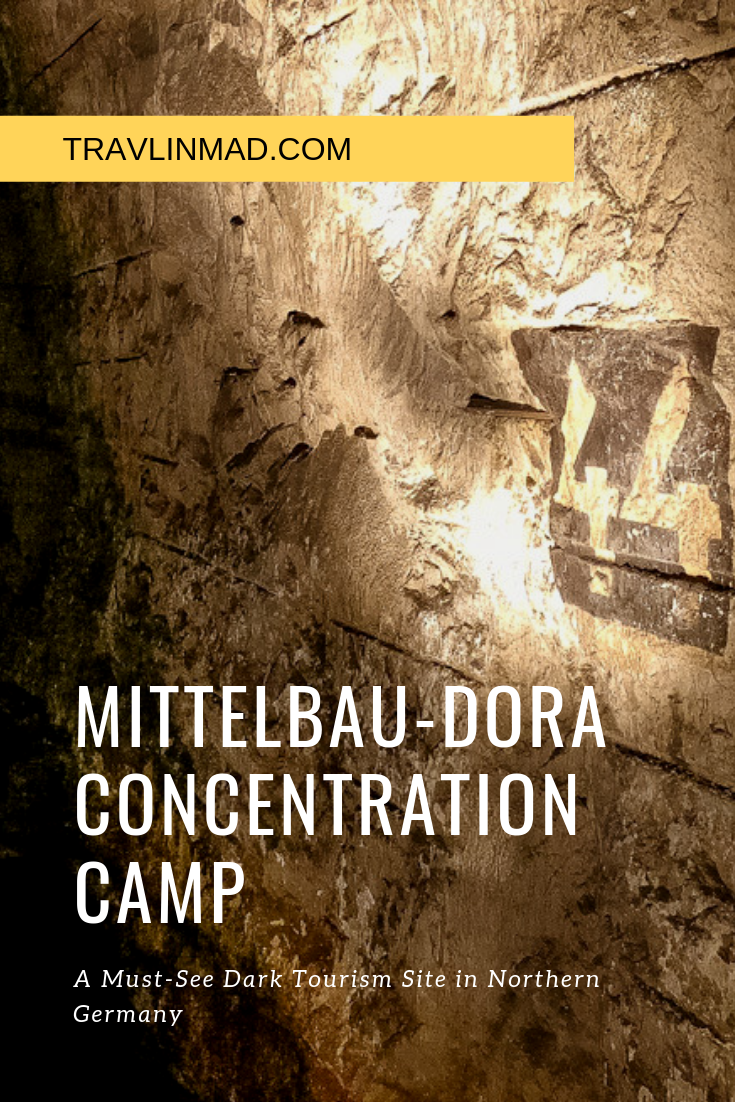 Visit the KZ Mittelbau Dora concentration camp in Nordhausen Germany, the WWII production facility of the V-2 rocket, a fascinating and lesser known dark tourism destination in Germany..