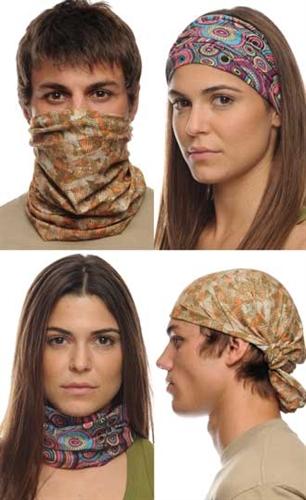 Buff USA multifuntional headwear is 100% USA made