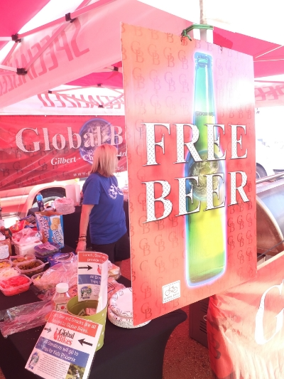 Landis Cyclery provided technical support (and beer!)while Global Bikes provided burgers and a keg!