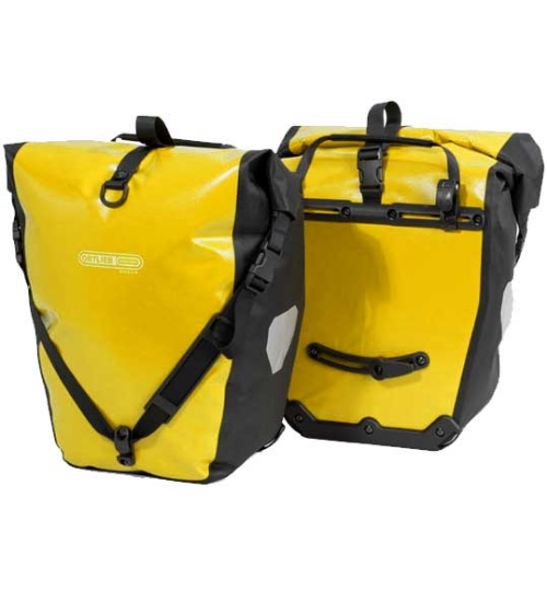 Ortlieb Panniers are some of the most popular, well-made panniers out there!
